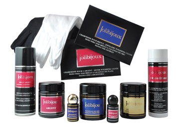 complete range products to clean jewels